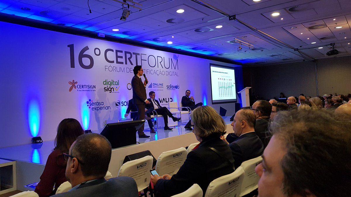 Apresentações do 16º CertForum são disponibilizadas no Youtube