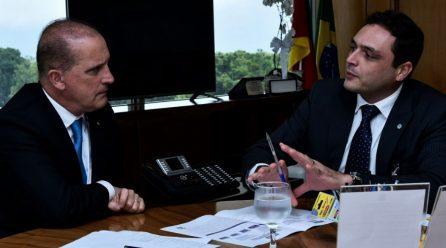 Ministro-chefe da Casa Civil recebe diretor-presidente do ITI