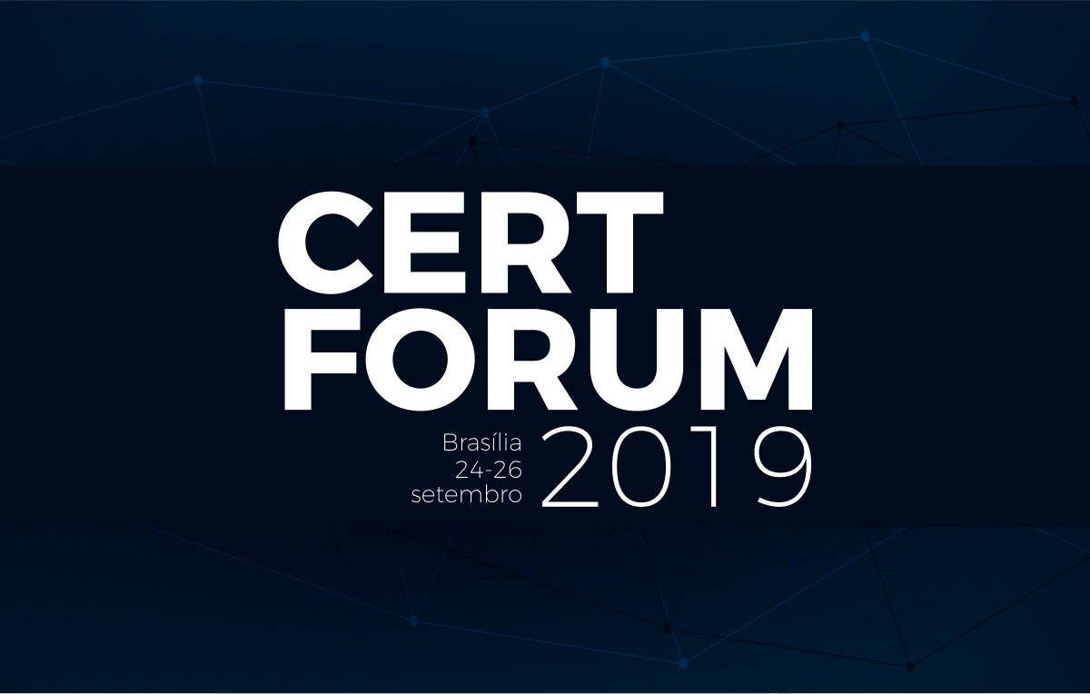 CertForum 2019 será realizado nos dias 24, 25 e 26 de setembro