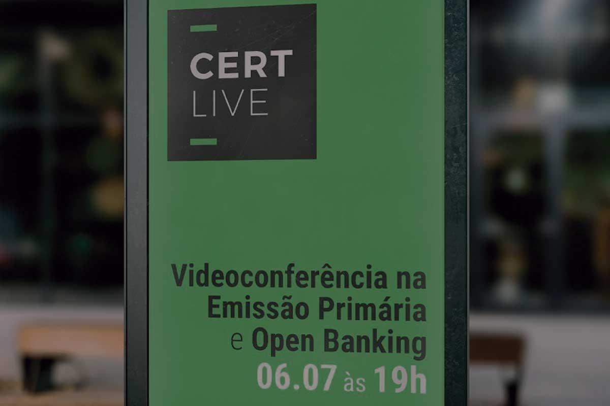 Videoconferência na Emissão Primária e Open Banking são os temas da Live que acontece no canal do ITI no Youtube.
