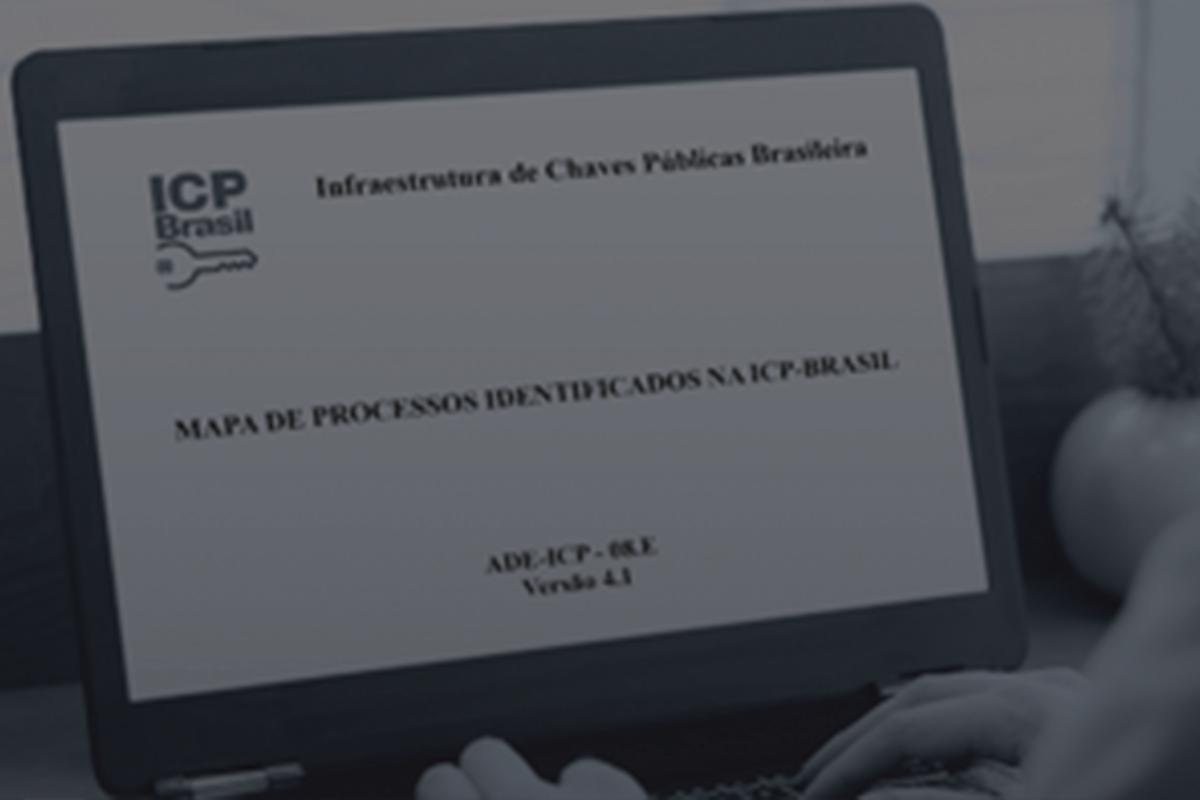 ITI publica nova versão do Mapa de Processos Identificados na ICP-Brasil